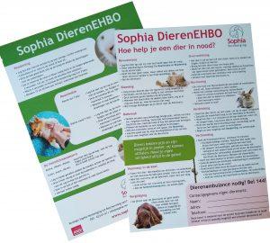 Sophia EHBO-kaart giftshop