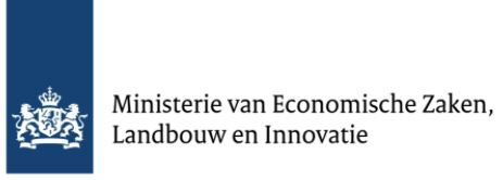 Logo ministerie EZ, landbouw en inovatie
